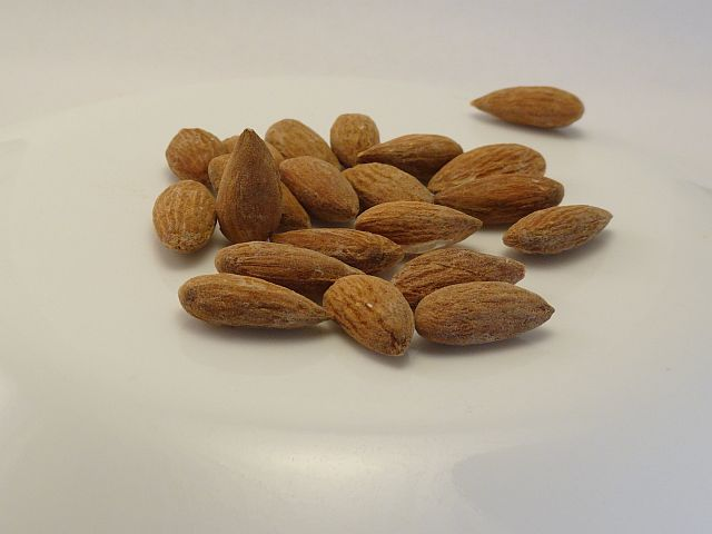 Almonds in Dr. Will Bar